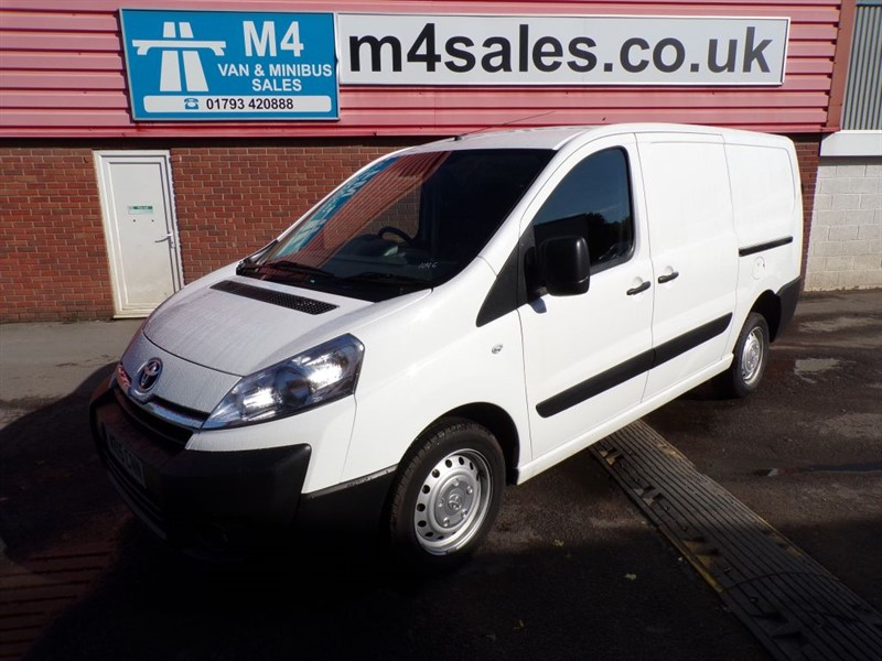 used Toyota Proace L2H1 HDI 1200 A/C in wiltshire