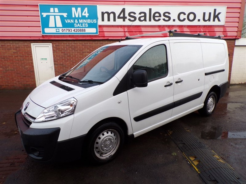 used Toyota Proace L2H1 HDI 120PS A/C in wiltshire