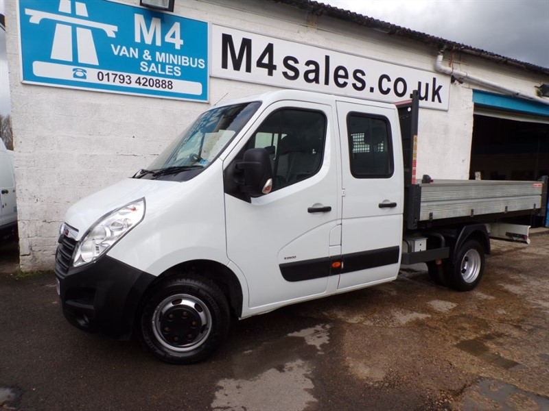 used Vauxhall Movano R3500 L3H1 CDTI CREW TIPPER   in wiltshire