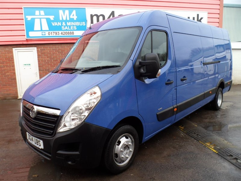 used Vauxhall Movano R3500 LWB MEDIUM ROOF WITH A/C 125PS in wiltshire