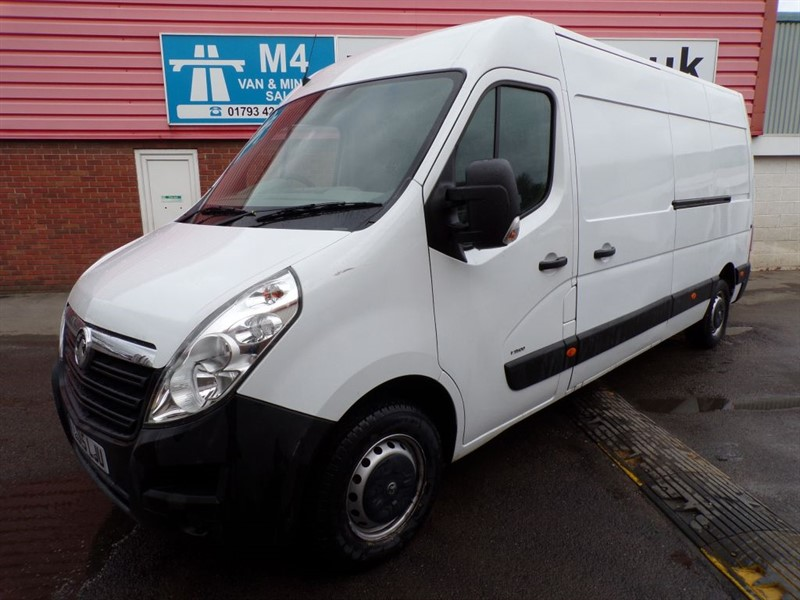 used Vauxhall Movano F3500 CDTI LWB H/R A/C in wiltshire