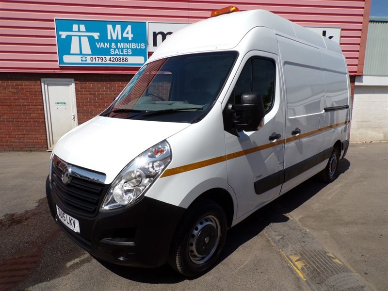 used Vauxhall Movano F3500 L2H3 CDTI LWB H/R  in wiltshire