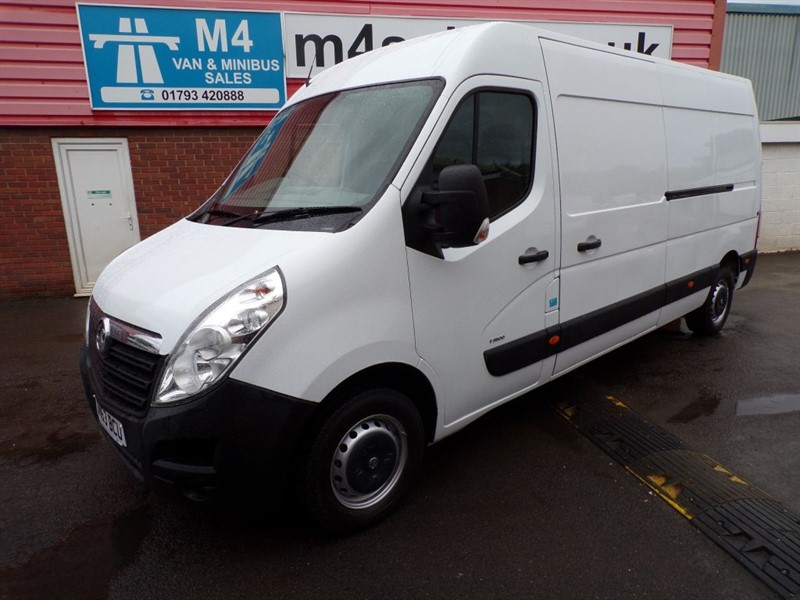 used Vauxhall Movano F3500 L3H2 CDTI 100PS in wiltshire