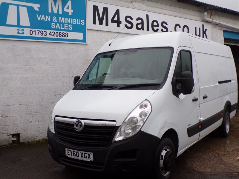 used Vauxhall Movano R3500 L3H2 CDTI DRW in wiltshire