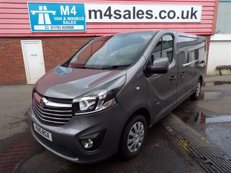 used Vauxhall Vivaro 2900 LWB CDTI SPORTIVE 115PS A/C in wiltshire