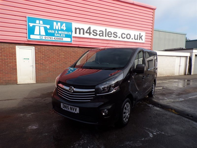 used Vauxhall Vivaro 2700 L1 H1 CDTI P/V SPORTIVE WITH A/C 120PS in wiltshire