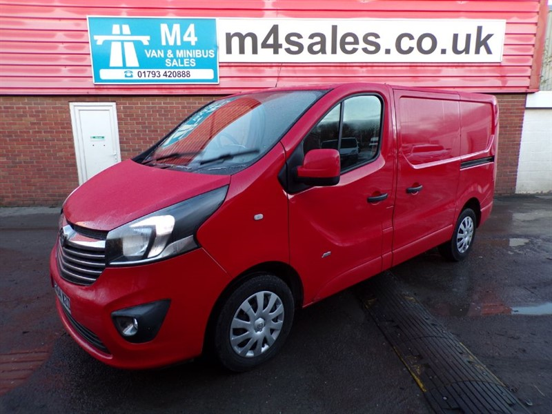 used Vauxhall Vivaro 2700 L1 H1 CDTI SPORTIVE WITH A/C 115PS in wiltshire