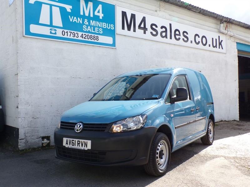 used VW Caddy C20 TDI 75, SKY BLUE, AIR CON. in wiltshire