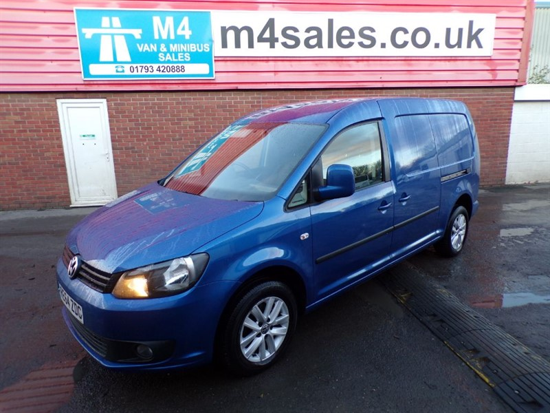 used VW Caddy Maxi C20 MAXI TDI HIGHLINE 102PS A/C in wiltshire