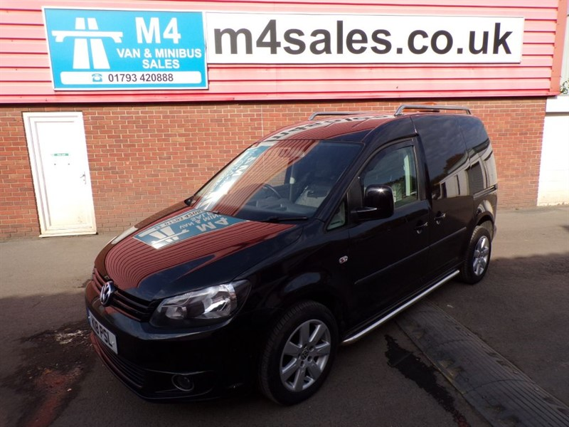 used VW Caddy C20 TDI 102PS in wiltshire