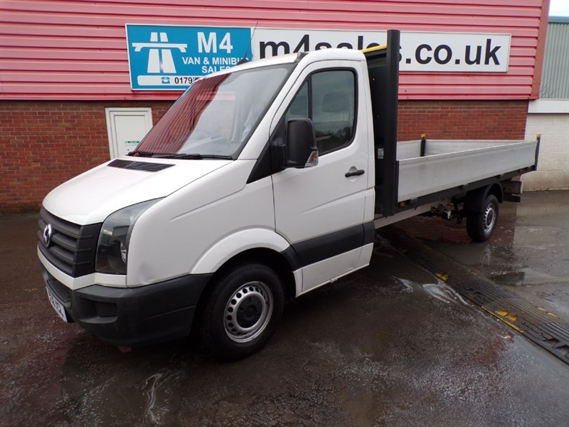 used VW Crafter CR35 TDI  DROPSIDE 136PS in wiltshire