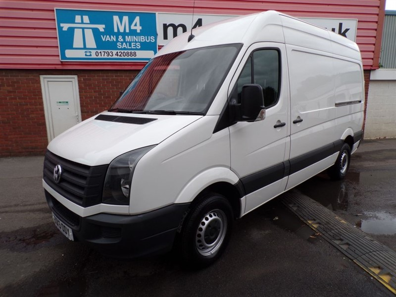used VW Crafter CR35 TDI MWB H/R 109PS in wiltshire