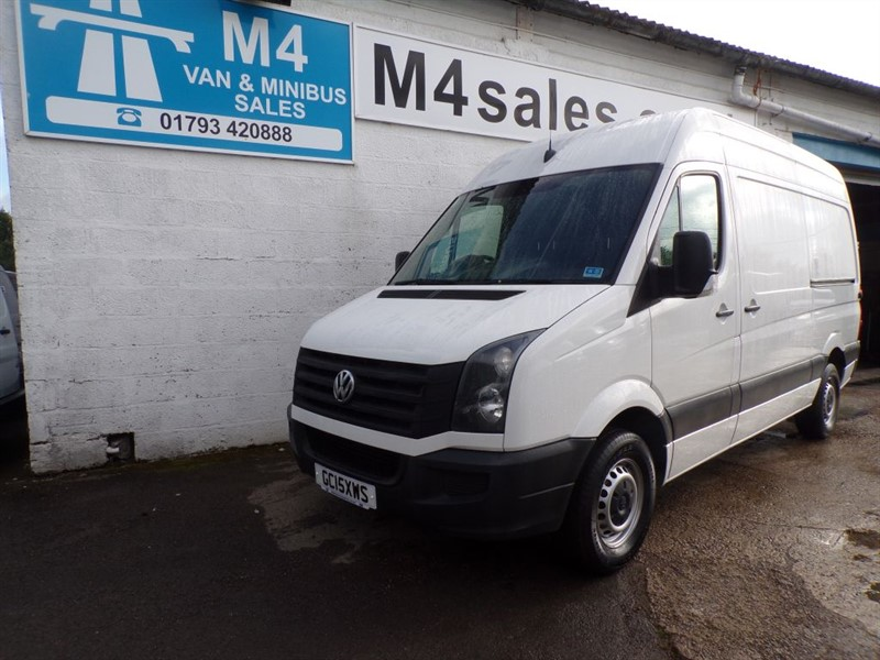 used VW Crafter TDI MWB HIGH ROOF 109PS in wiltshire