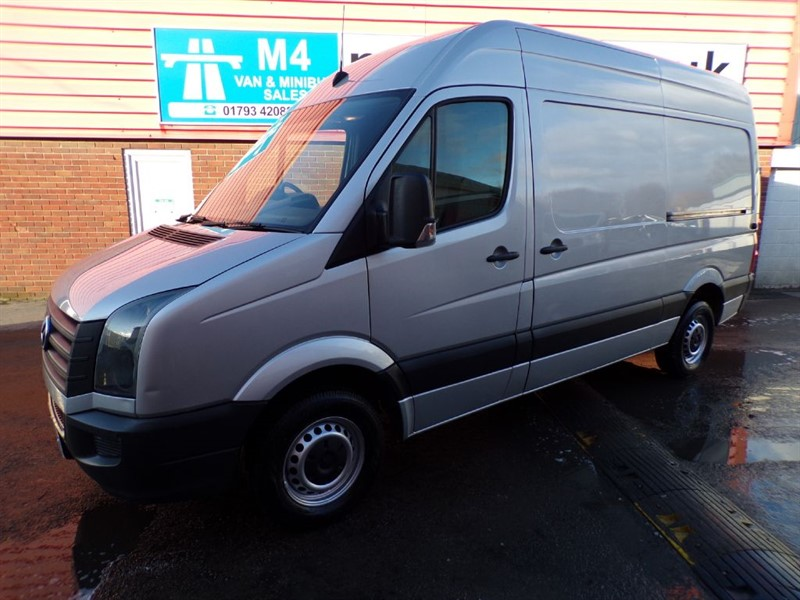 used VW Crafter CR35 TDI HIGH ROOF in wiltshire