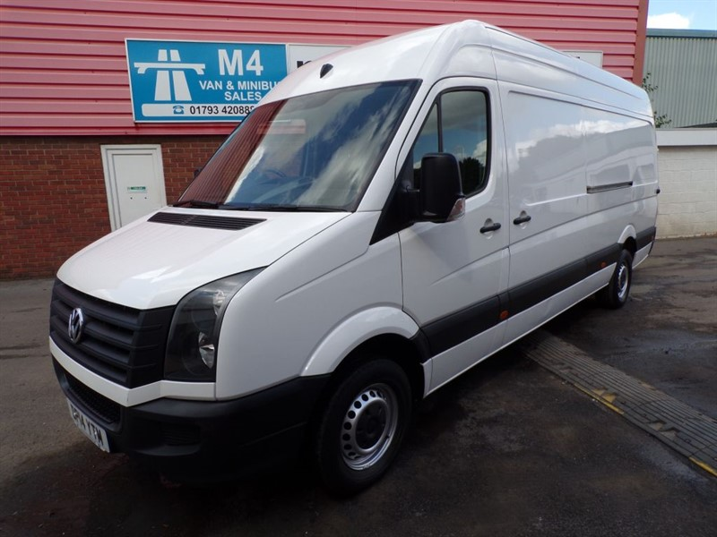 used VW Crafter CR35 TDI H/R LWB STARTLINE 109PS in wiltshire