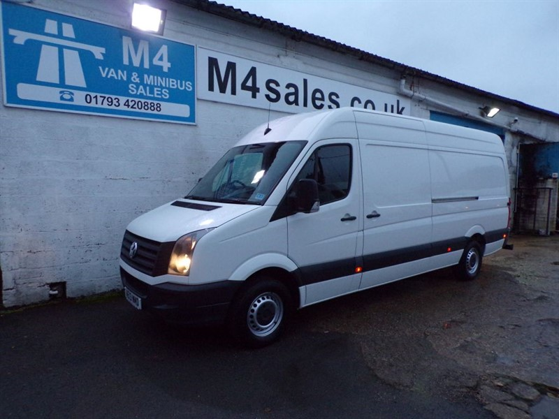 used VW Crafter CR35 TDI LWB HIGH/ROOF in wiltshire
