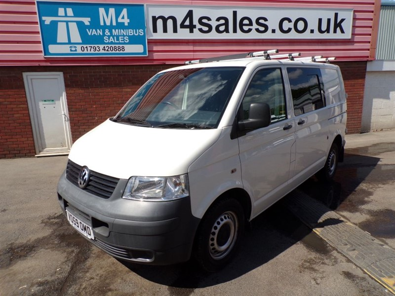 used VW Transporter T30 SWB TDI 4 MOTION KOMBI 130PS A/C *NO VAT* in wiltshire
