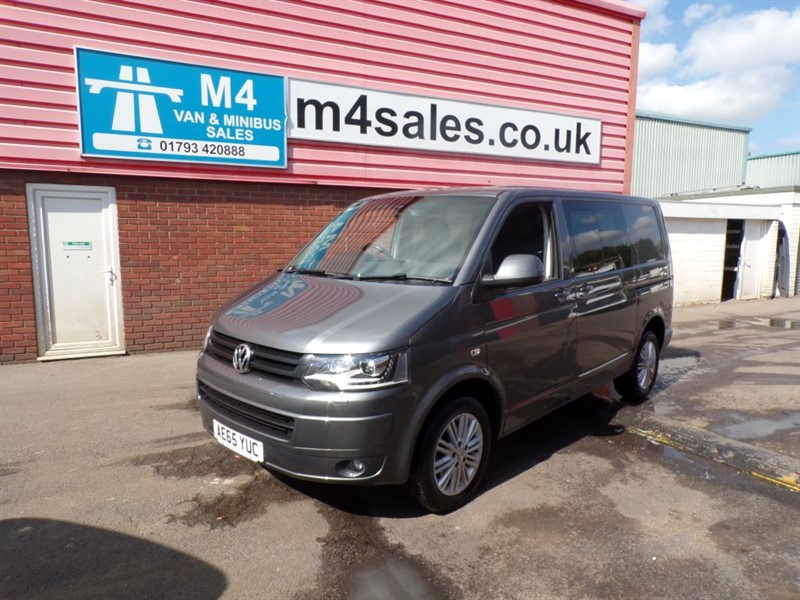used VW Transporter T30 TDI KOMBI HIGHLINE SWB 180PS A/C in wiltshire