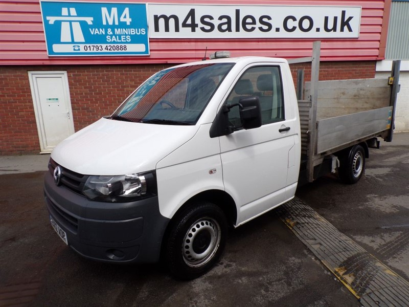 used VW Transporter T30 TDI LWB S/C DROPSIDE WITH T/LIFT 140PS in wiltshire
