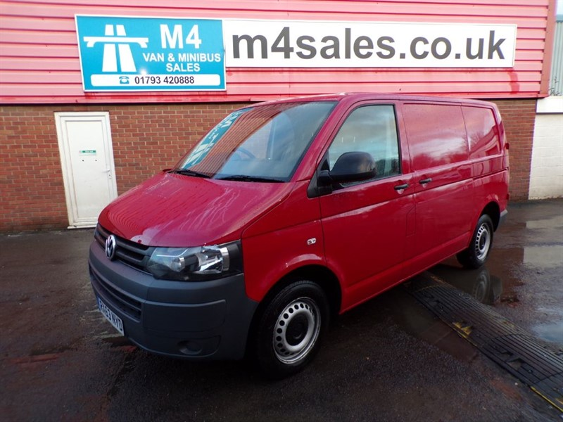 used VW Transporter T30 TDI SWB 140PS A/C in wiltshire