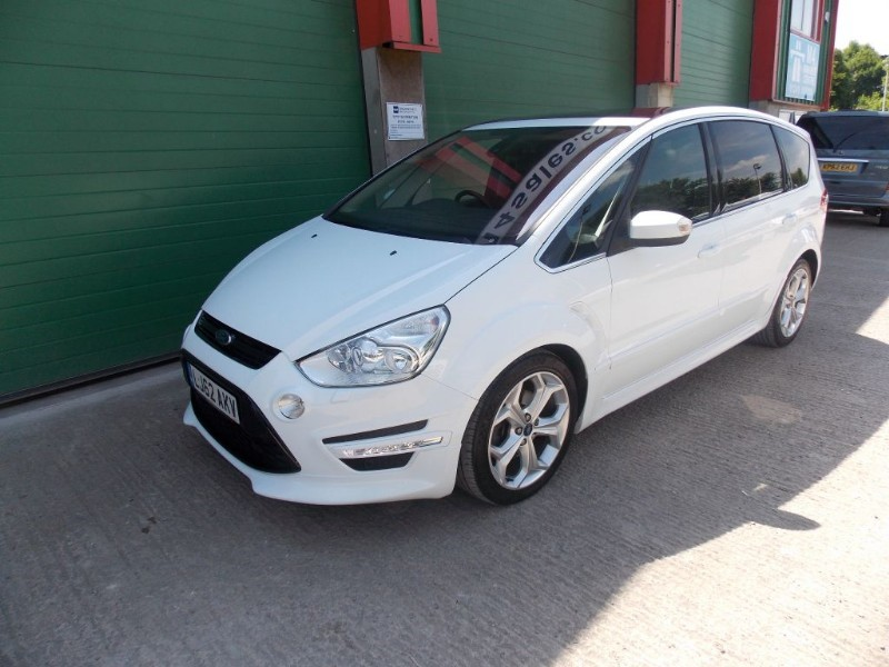 used Ford S-Max 163ps,7 seat Titanium X Sport,fsh in wiltshire