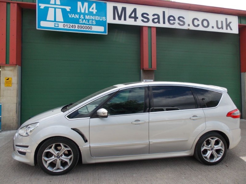 used Ford S-Max 200ps, 7st Titanium X Sport,fsh.  in wiltshire