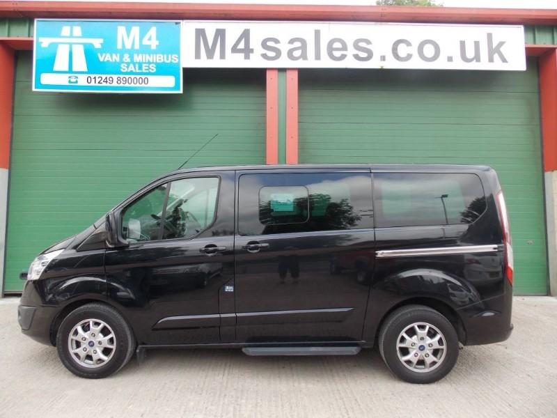 used Ford Tourneo Custom 8st, swb minibus,Full A/C etc.. in wiltshire