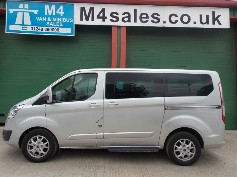 used Ford Tourneo Custom 125ps, 8st ltd model in wiltshire