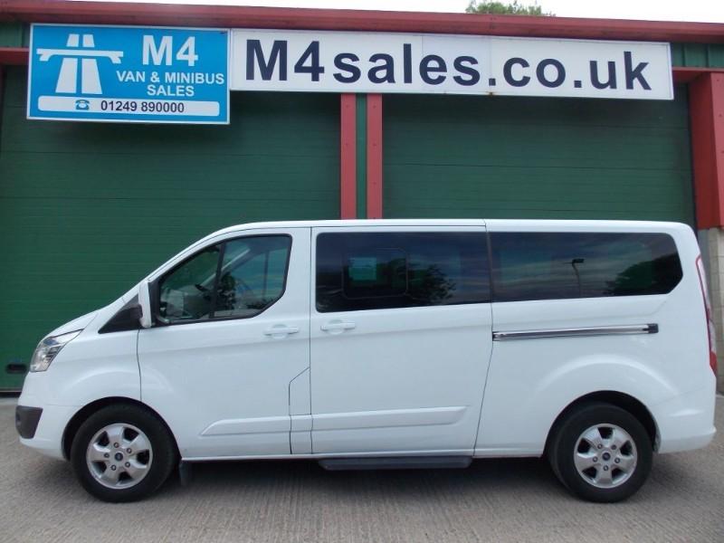 used Ford Tourneo Custom 9st ltd model minibus,full a/c in wiltshire