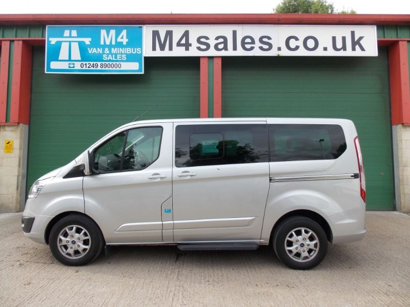 used Ford Tourneo Custom 300 LIMITED TDCI L1 SWB in wiltshire