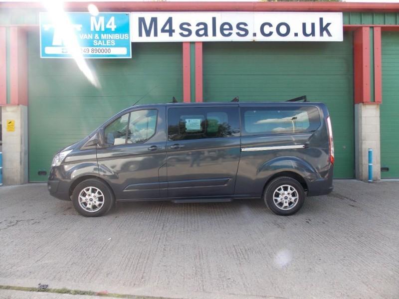 used Ford Tourneo Custom 9 seat lwb titanium model. in wiltshire
