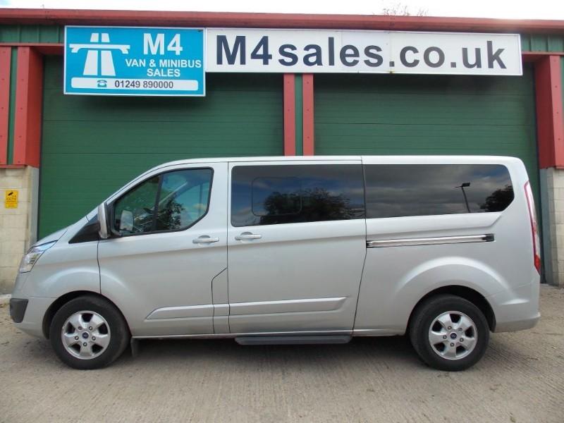 used Ford Tourneo Custom 9 seat lwb titanium.**AUTO** in wiltshire