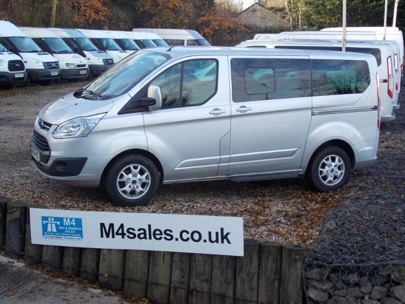 used Ford Tourneo Custom 8 seat swb titanium in wiltshire