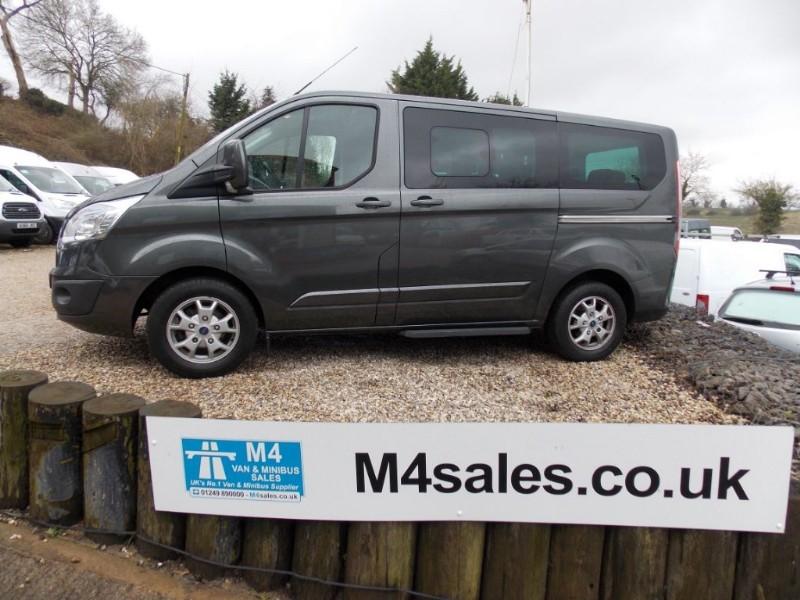 used Ford Tourneo Custom 9 seat swb ltd model in wiltshire