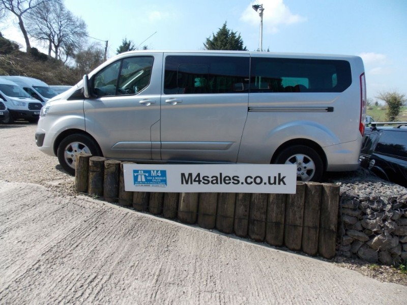 used Ford Tourneo Custom 125ps, 9 seat lwb ltd in wiltshire