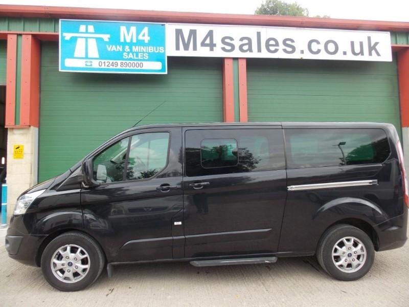 used Ford Tourneo Custom 9 seat lwb ltd model minibus,full a/c in wiltshire