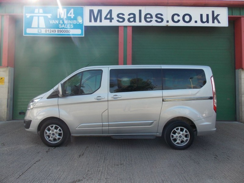 used Ford Tourneo Custom 300 LIMITED TDCI Titanium 8 Seater L1 H1 in wiltshire
