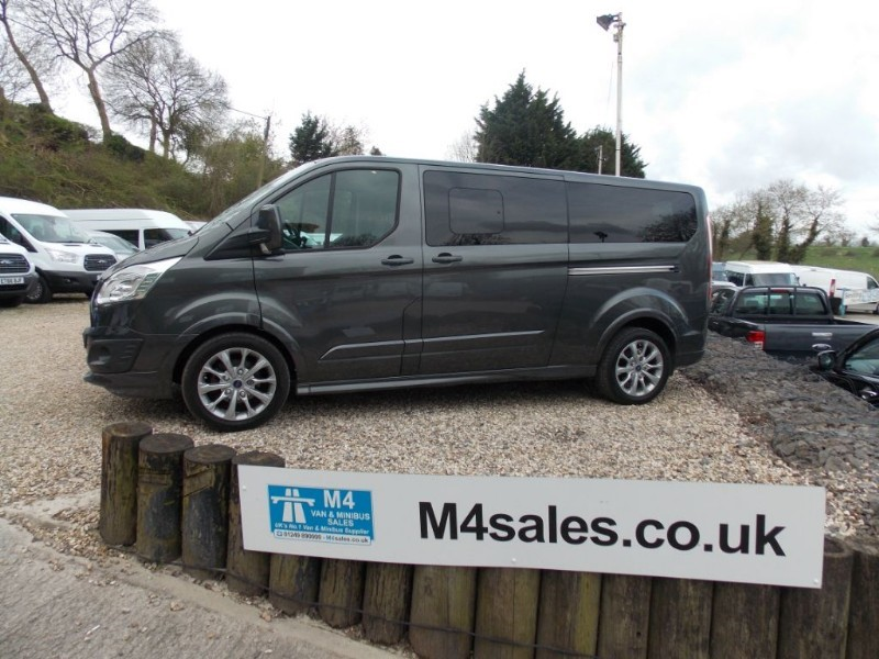 used Ford Tourneo Custom 170ps,8 seat LWB Sport.**No Vat** in wiltshire
