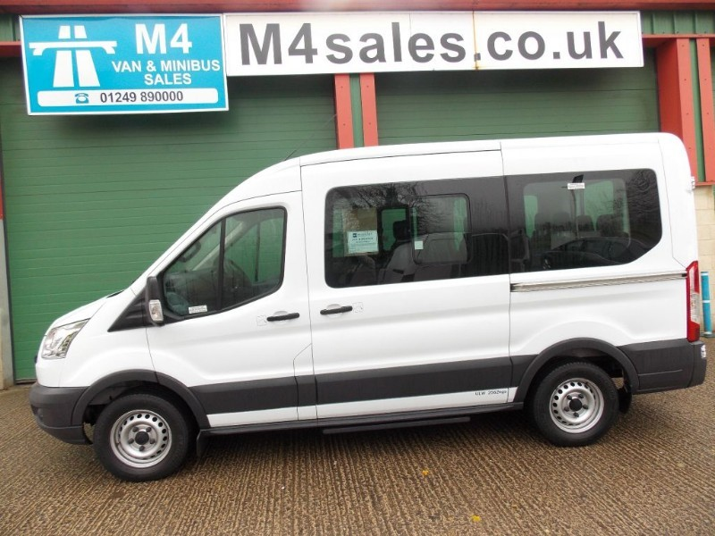used Ford Transit 135ps,12st minibus,tacho,psv in wiltshire