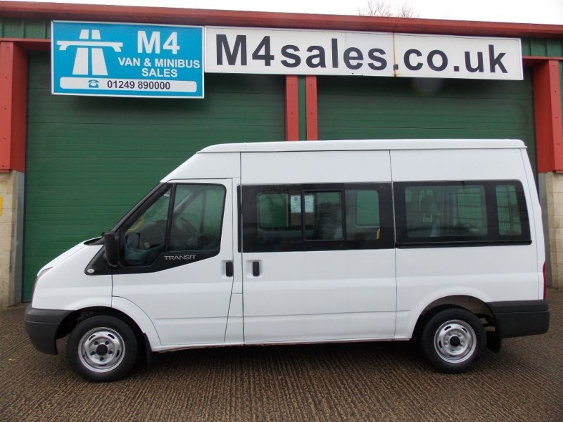 used Ford Transit 125ps,9st shuttle minibus in wiltshire