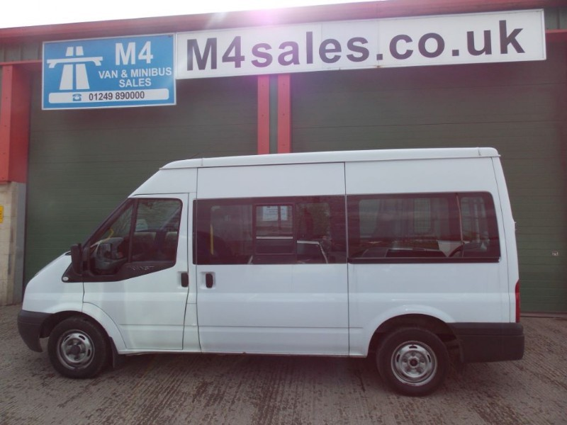 used Ford Transit 9st Shuttle Minibus in wiltshire