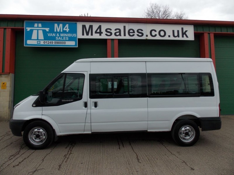 used Ford Transit 3.5t 13 seat minibus in wiltshire