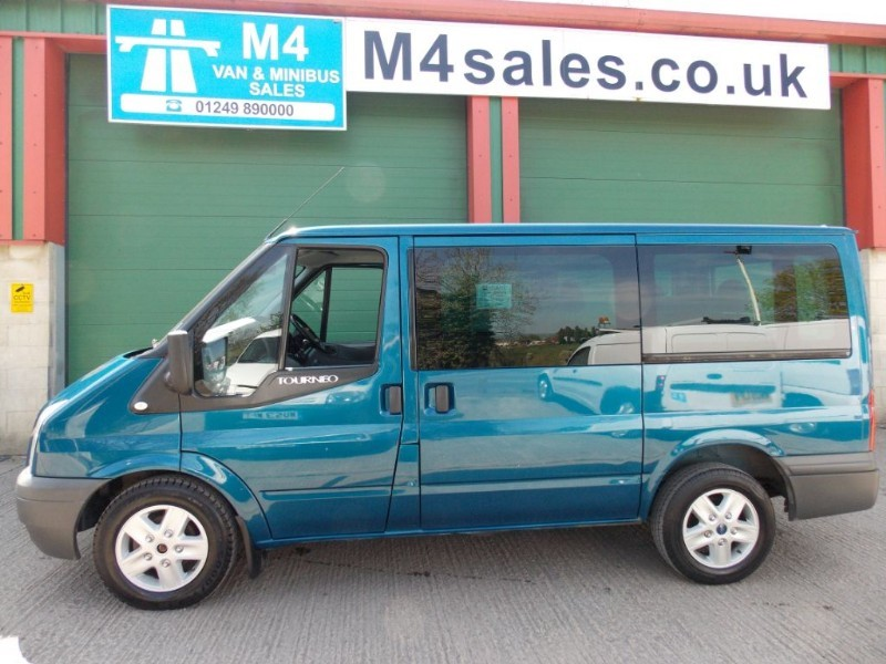 used Ford Tourneo 110ps,9st minibus.**No Vat** in wiltshire