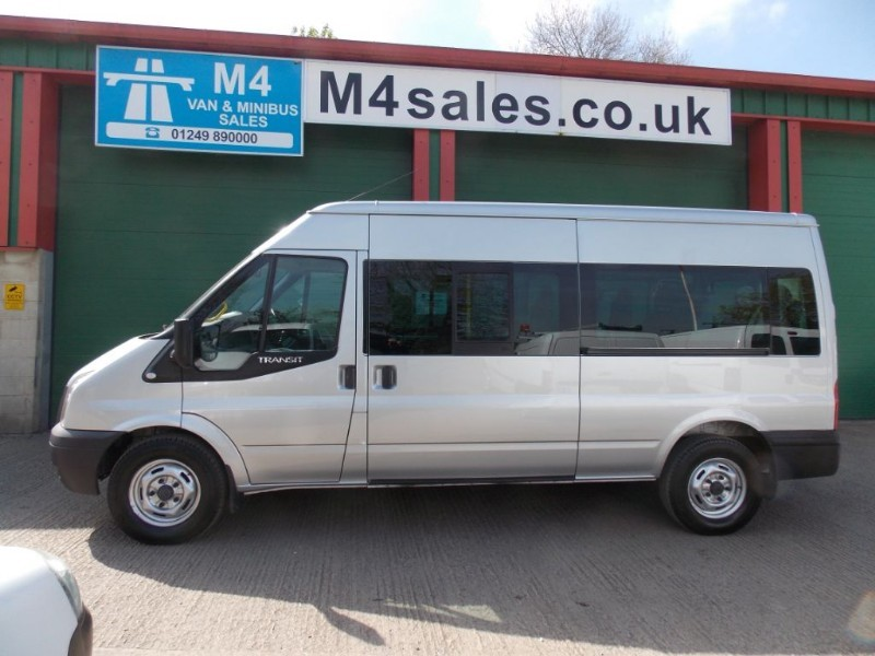 used Ford Transit 135ps,14st minibus,3.5t in wiltshire