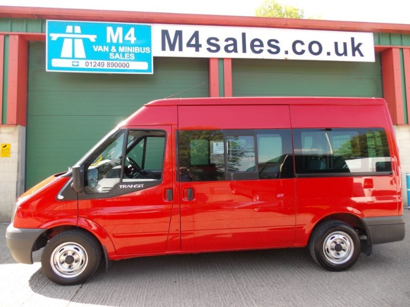 used Ford Transit 115ps,9st shuttle minibus. **Low Miles** in wiltshire