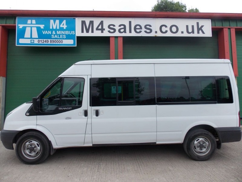 used Ford Transit 350 11 Seat Minibus Euro 5 135ps in wiltshire