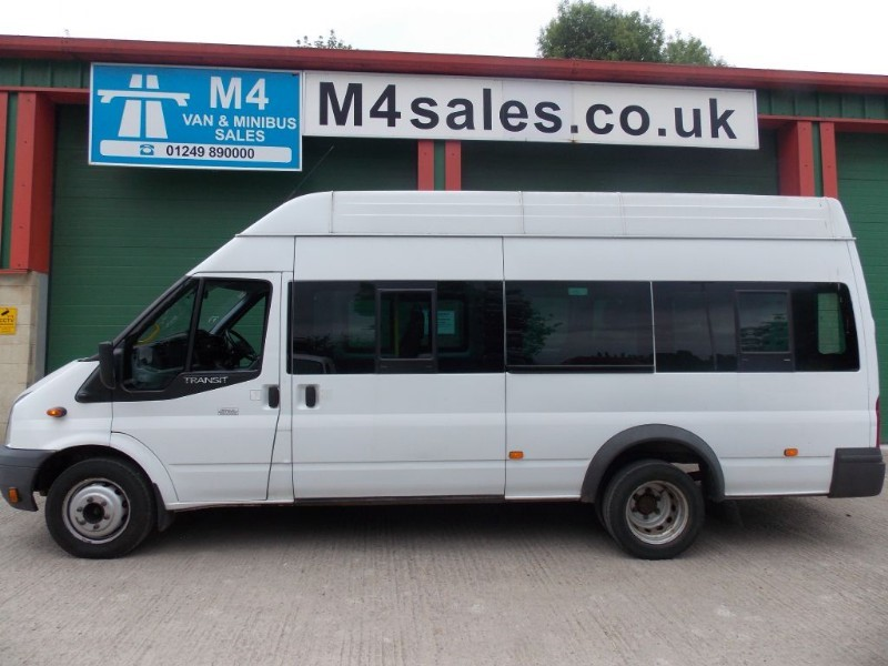 used Ford Transit 135ps,17st Hitop minibus,tacho,PSV ready. in wiltshire