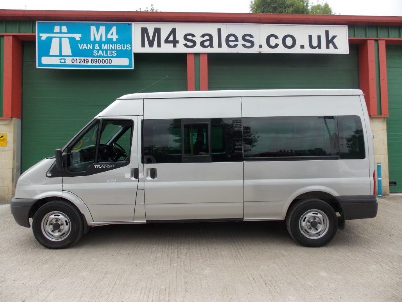 used Ford Transit 350 14 Seat Minibus Euro 5 135ps in wiltshire