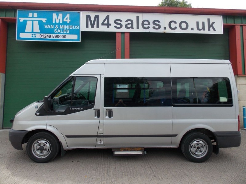 used Ford Transit 9st wheelchair adapted minibus in wiltshire