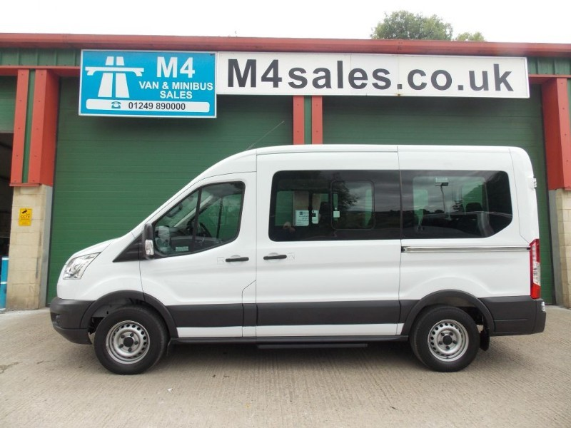 used Ford Transit 125ps,12st 3.5t minibus,A/con in wiltshire